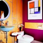 Parlak Ve Renkli Banyo Tasarım Fikirleri 11 150x150 43 Parlak ve Renkli Banyo Tasarım Fikirleri