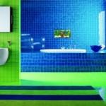 Parlak Ve Renkli Banyo Tasarım Fikirleri 15 150x150 43 Parlak ve Renkli Banyo Tasarım Fikirleri