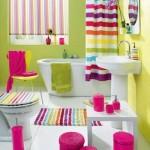 Parlak Ve Renkli Banyo Tasarım Fikirleri 18 150x150 43 Parlak ve Renkli Banyo Tasarım Fikirleri