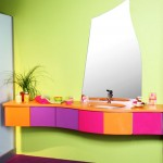 Parlak Ve Renkli Banyo Tasarım Fikirleri 21 150x150 43 Parlak ve Renkli Banyo Tasarım Fikirleri