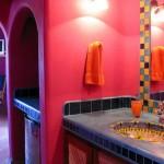 Parlak Ve Renkli Banyo Tasarım Fikirleri 24 150x150 43 Parlak ve Renkli Banyo Tasarım Fikirleri