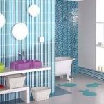 Parlak Ve Renkli Banyo Tasarım Fikirleri 25 150x150 43 Parlak ve Renkli Banyo Tasarım Fikirleri