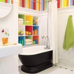 Parlak Ve Renkli Banyo Tasarım Fikirleri 27 150x150 43 Parlak ve Renkli Banyo Tasarım Fikirleri