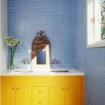 Parlak Ve Renkli Banyo Tasarım Fikirleri 29 150x150 43 Parlak ve Renkli Banyo Tasarım Fikirleri