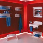 Parlak Ve Renkli Banyo Tasarım Fikirleri 36 150x150 43 Parlak ve Renkli Banyo Tasarım Fikirleri