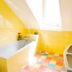 Parlak Ve Renkli Banyo Tasarım Fikirleri 4 150x150 43 Parlak ve Renkli Banyo Tasarım Fikirleri