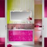 Parlak Ve Renkli Banyo Tasarım Fikirleri 40 150x150 43 Parlak ve Renkli Banyo Tasarım Fikirleri