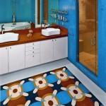 Parlak Ve Renkli Banyo Tasarım Fikirleri 41 150x150 43 Parlak ve Renkli Banyo Tasarım Fikirleri