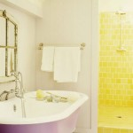 Parlak Ve Renkli Banyo Tasarım Fikirleri 42 150x150 43 Parlak ve Renkli Banyo Tasarım Fikirleri