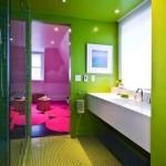 Parlak Ve Renkli Banyo Tasarım Fikirleri 8 150x150 43 Parlak ve Renkli Banyo Tasarım Fikirleri