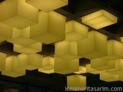 gergi tavan 1 Gergi Tavan Sistemleri