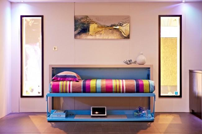 modular bed 650x433 Akıllı Ev Dekorasyonu 2013