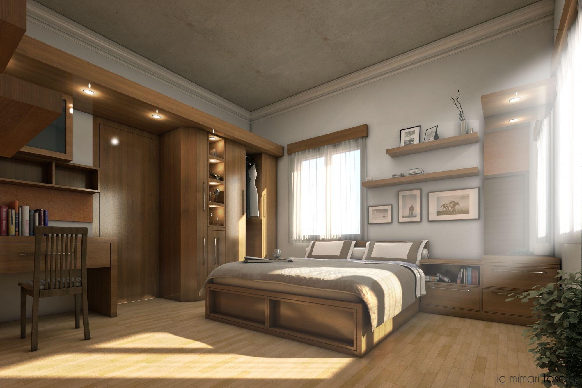 25 Muhteşem Yatak Odası Tasarımları (22)