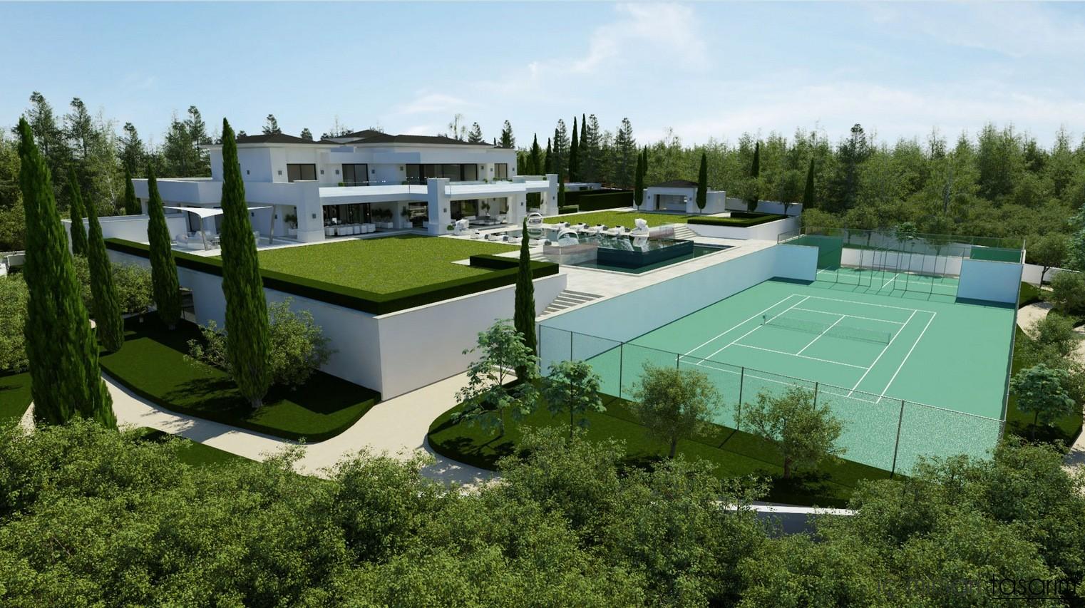 Villa İç Tasarım Modelleri 2015 (25)