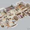4-Yatak Odalı-Daire-Villa-İç Tasarımları (7)